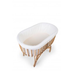 Childhome bumper for rattan cradle