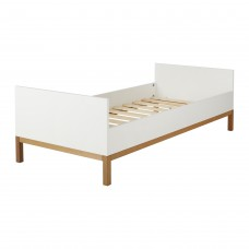 Quax Indigo Junior Bed 90x200cm - White - QC