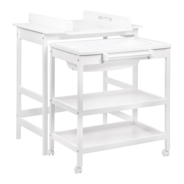 Quax Changing table with bath Smart promo White