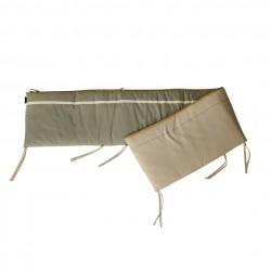 Quax - Ethnic Beige Khaki - Bed & Box Bumper
