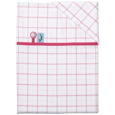 Pericles Forest Sheet for Bed Light Pink + pillowcase