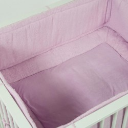 "Quax Playpen Textile set ""Soft Rose"""