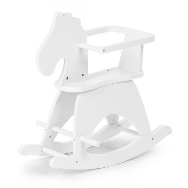 Childhome  Rocking Horse + brace white
